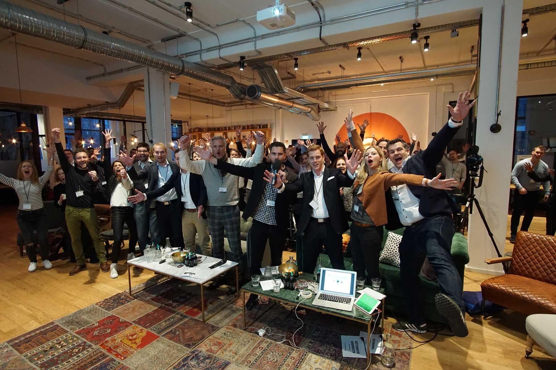 Rayk Hahne bei Hamburg Startups by Mathias Jäger